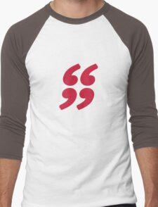 QUOTATION MARK Men's Baseball ¾ T-Shirt