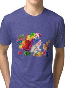 Revenge of the Easter Hen Tri-blend T-Shirt