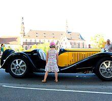 Bugatti as girl's best friend  by deThierry