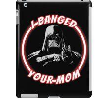 Darth Banger iPad Case/Skin