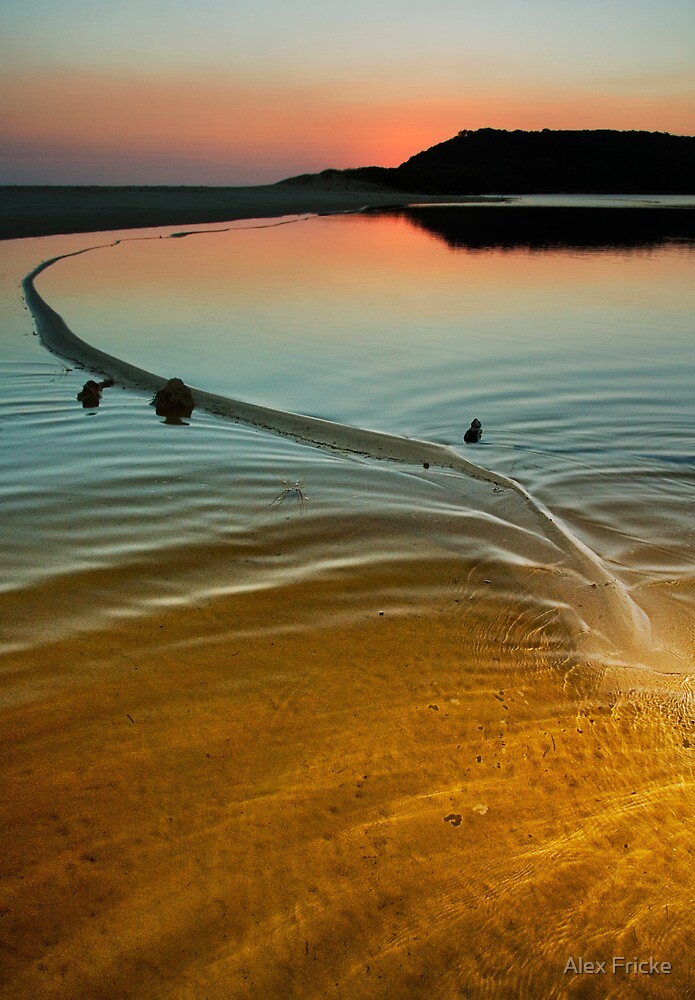 Great Water Serpent Manifests at Wingam Inlet by Alex Fricke