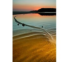 Great Water Serpent Manifests at Wingam Inlet Photographic Print
