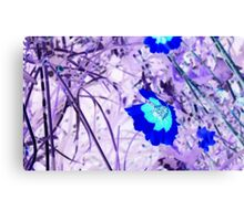 Psycho Flowers Canvas Print