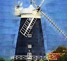 Burnham Overy Staithe Windmil by Chris Thaxter