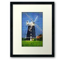 Burnham Overy Staithe Windmil Framed Print