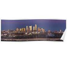 The Austin Skyline from the Zilker Park Clubhouse Pano Poster