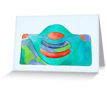 """Buddha Earth Mama"" Greeting Card"