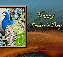 Father's Day Peacock by jkartlife