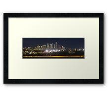 Austin Skyline Sunrise from the Zilker Park Clubhouse 2 Framed Print