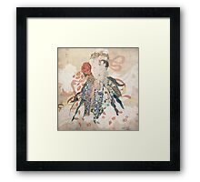 Mother's Lap Framed Print