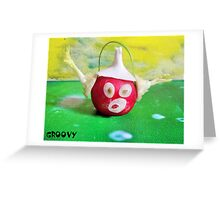 Groovy Greeting Card