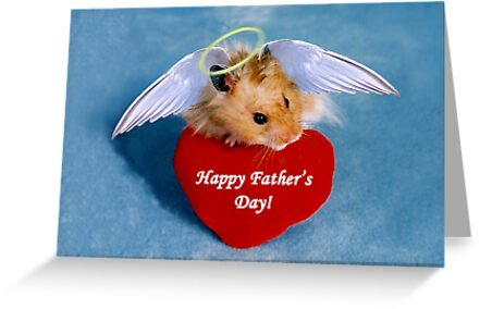 Father's Day Hamster by jkartlife