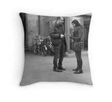 I'll give you his number Throw Pillow