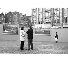 Between two windows Photographic Print