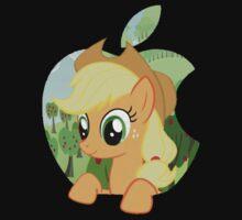 Applejack apple by owlbert