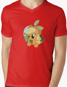 Applejack apple Mens V-Neck T-Shirt