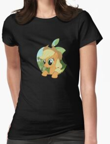 Applejack apple Womens Fitted T-Shirt