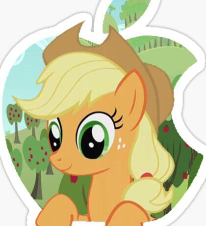 Applejack apple Sticker