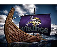 Viking ship Photographic Print