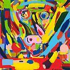 """""""Man in bull"""" by Geoff Bell-Devaney"""