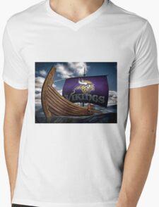 Viking ship Mens V-Neck T-Shirt