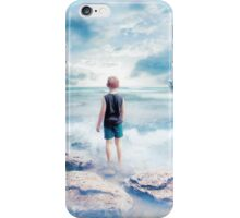Waiting at the water's edge iPhone Case/Skin