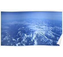 Snowy Peaks Poster