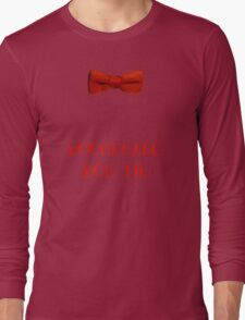 Boomerang Bow Tie Long Sleeve T-Shirt