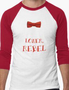 Loner, Rebel Men's Baseball ¾ T-Shirt