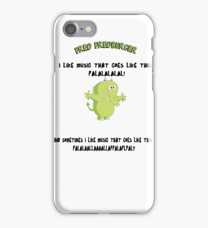 FRED FREDBURGER the grim adventures of billy and mandy cartoon iPhone Case/Skin