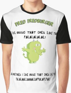 FRED FREDBURGER the grim adventures of billy and mandy cartoon Graphic T-Shirt
