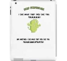 FRED FREDBURGER the grim adventures of billy and mandy cartoon iPad Case/Skin