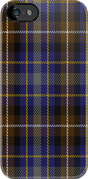 00175 Devon Companion Tartan Fabric Print Iphone Case by Detnecs2013