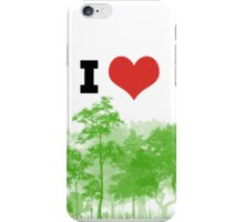 I Heart Forest / Nature / Trees iPhone Case/Skin