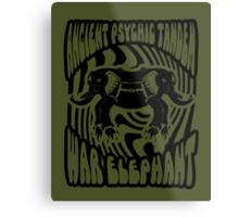 Ancient physic tandem war elephant Metal Print