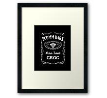 Scumm Bar's GROG Framed Print