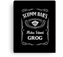 Scumm Bar's GROG Canvas Print