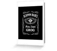 Scumm Bar's GROG Greeting Card