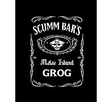 Scumm Bar's GROG Photographic Print
