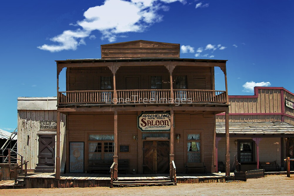 ApacheLand Saloon & Restaurant #10575 by LoneTreeImages