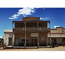 ApacheLand Saloon & Restaurant #10575 Photographic Print