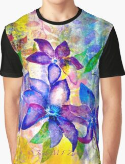 Clematis Summer Graphic T-Shirt