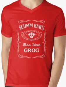 Scumm Bar's GROG Mens V-Neck T-Shirt
