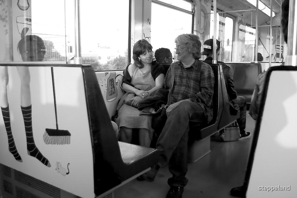 Metro romance by steppeland