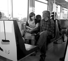 Metro romance by steppeland
