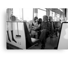 Metro romance Canvas Print