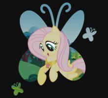 Fluttershy Butterfly by owlbert