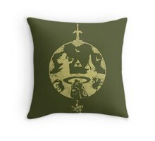 A hero's Journey Throw Pillow