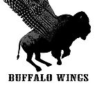 Buffalo Wings Flying Buffalo by RedPine