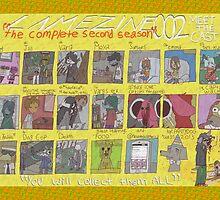 Lamezine 002 Cast Poster by lamezone